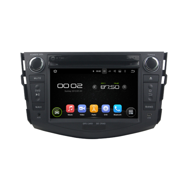 TOYOTA RAV4  2006-2012 Car Multimedia System Player