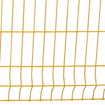 Factory Direct welded 3d curved wire mesh fence