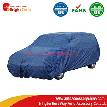 Blue Polyester Van/SUV Car Cover