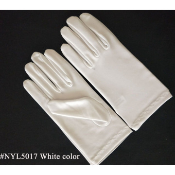Adult White Masquerade Costume Gloves