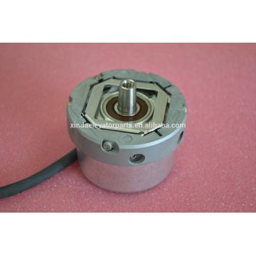Encoder for gearless machine elevator spare parts