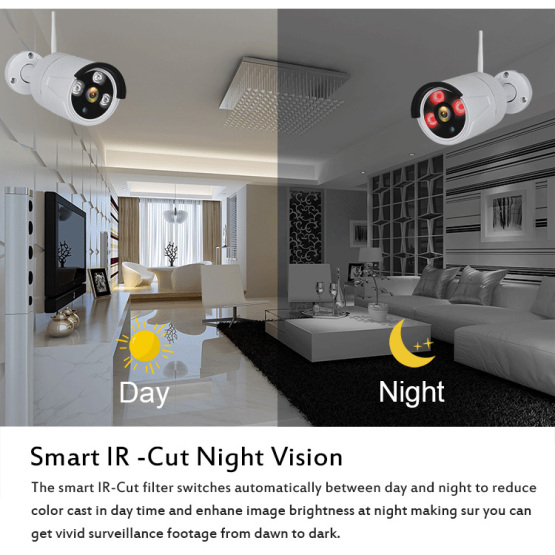1080P Security Camera Wireless NVR kit