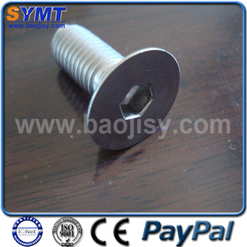 DIN7991 Gr5 Titanium countersunk head cap Screw
