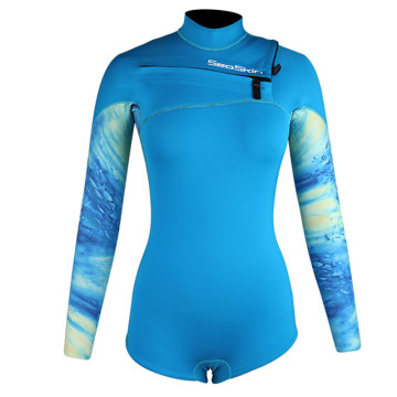 Seaskin Long Sleeves Short Legs Surfing Spring Wetsuits