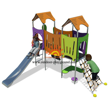 Modern Kids Outdoor Playground Equipment For Creating