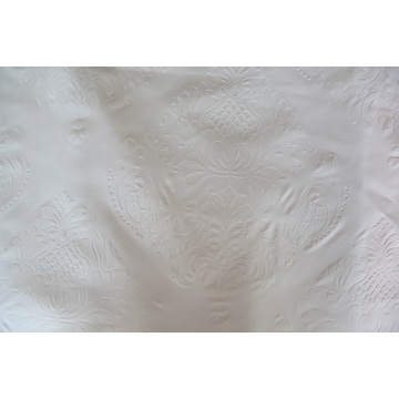 100% Polyester Bed Sheet embossed bleach Fabric