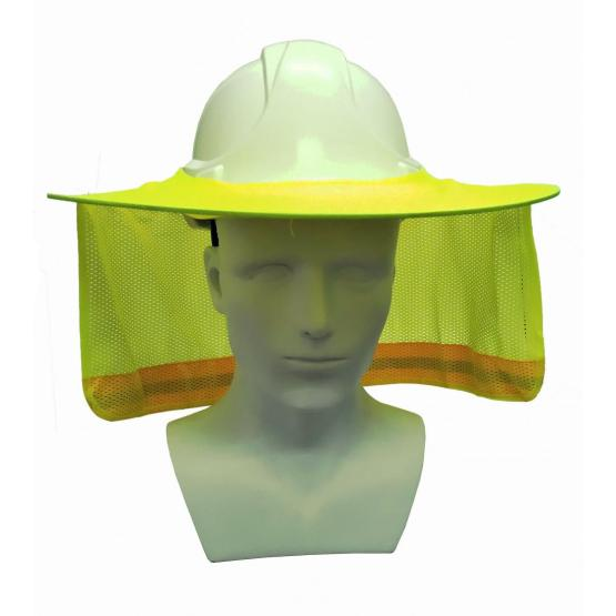 Sun Neck Shield Full Brim Sunshade for Safety Helmet