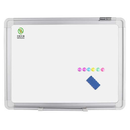 Smooth Writing Magnetic white board with aluminum frame