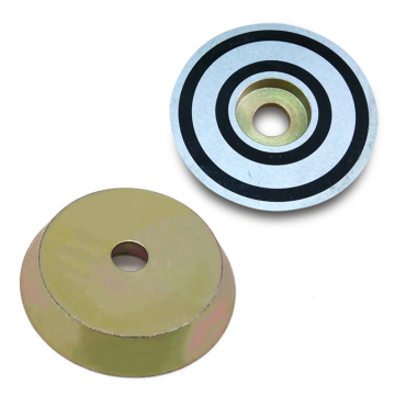 D55 Threaded Embedded Magnets With Zinc Coated