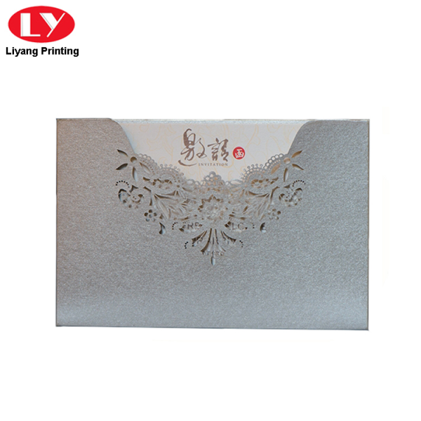 Speciality paper greeting printed card with envelope