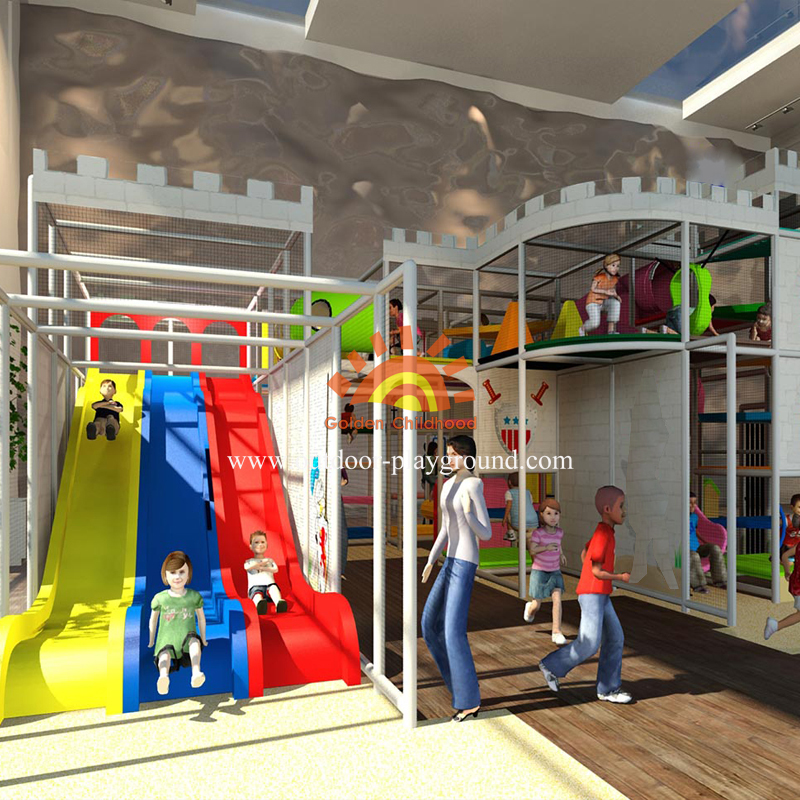 Kids Castle Themed Indoor Playground