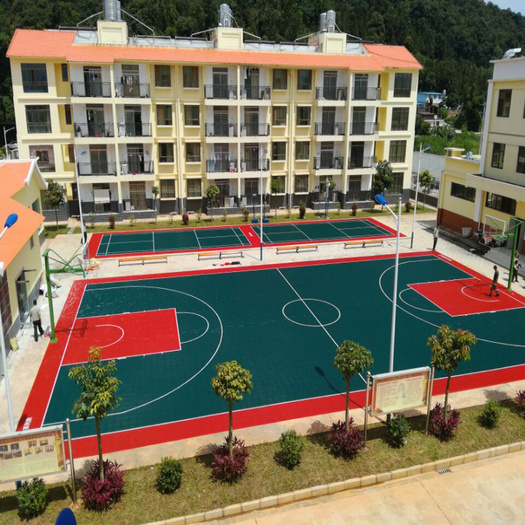 Outdoor Basketball PP Court Mats Sports Flooring
