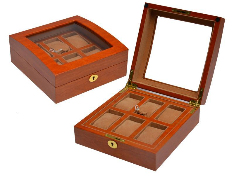 WB-3035 watch box for 6 watches