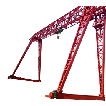truss type single girder gantry crane for sale