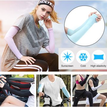 YONHEE Ice Arm Sleeves Compression Sport Gloves