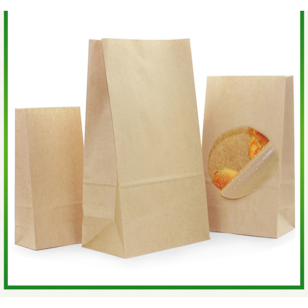 green style environmental kraft paper bag