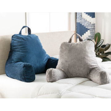 Quality Reading Lounge In Bed Pillow With Armrests