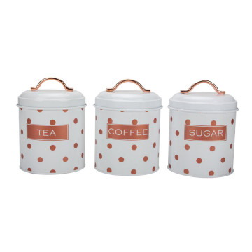 Ktchen storage canister set of 3