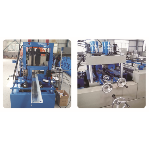 Automatic C/Z purlin roll forming machine