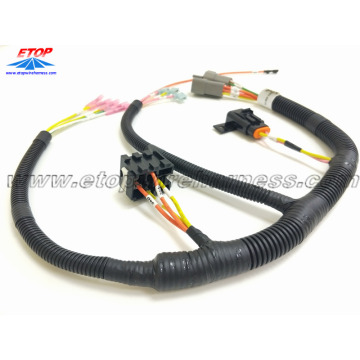 auto wiring harness with relay holder