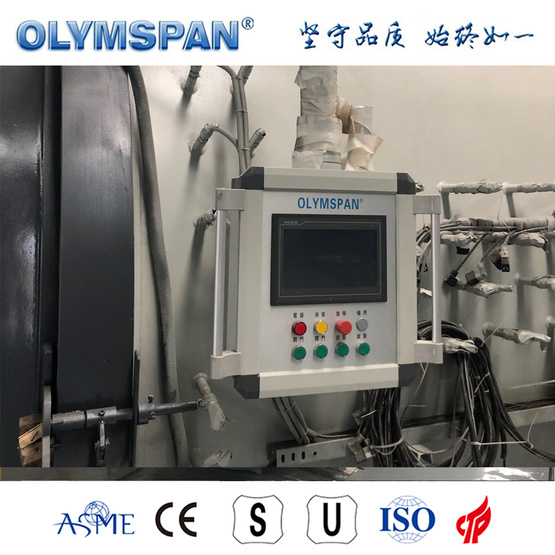 ASME standard composite part bonding autoclave