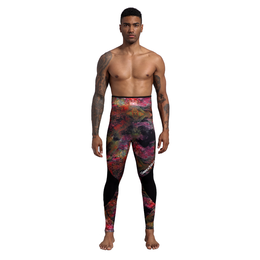 Two Pieces Camo Wetsuit
