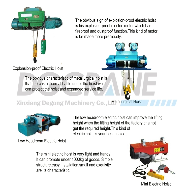 3Ton Wire Rope Hoist