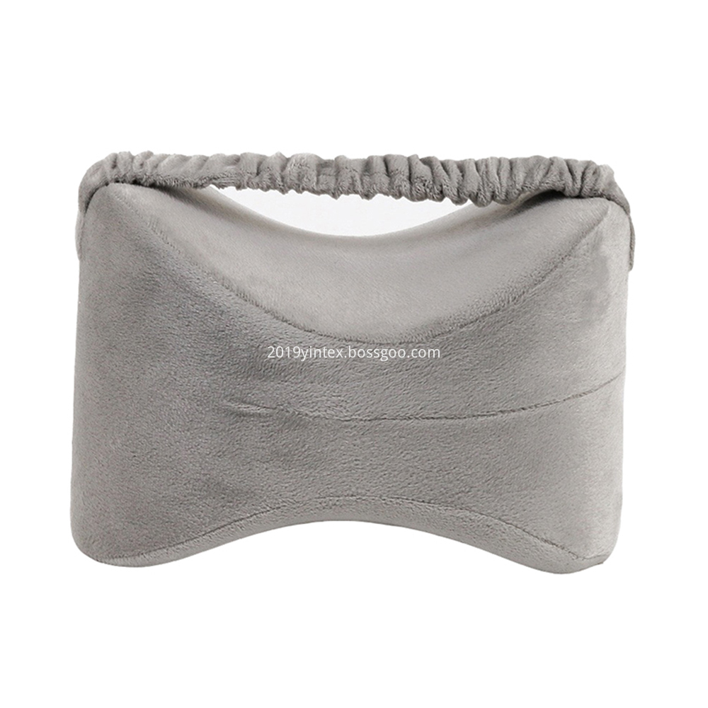 knee pillow with strap