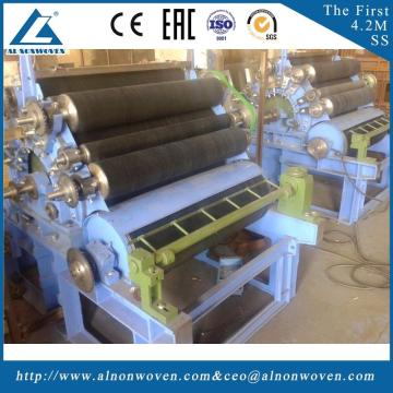ALFZ-2500 needle punching wasted felt production line