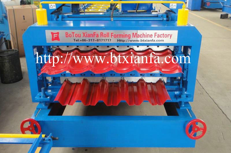 Cold Rolled Steel Forming Machine