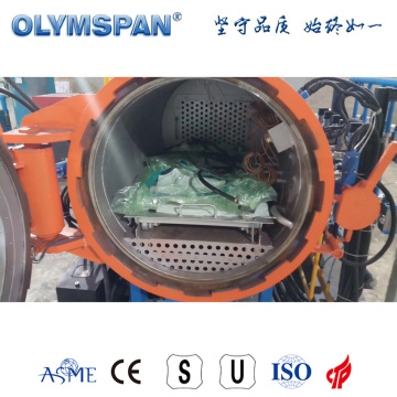 ASME standard small fiber glass treatment autoclave