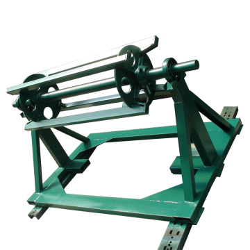 Hot product 3t/5t steel coil manual decoiler machine