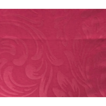 100% polyester dye embossed peach skin for bed