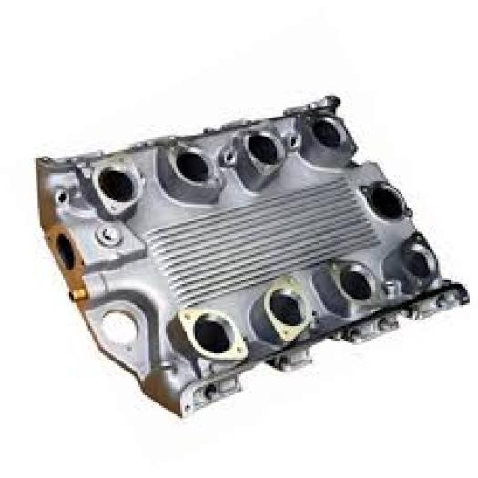Aluminum die casting  intake manifold cover