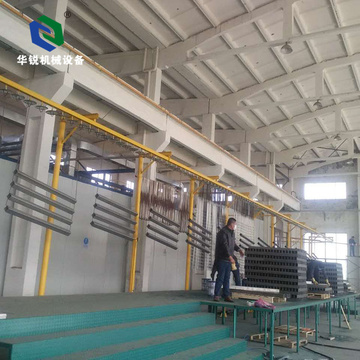 Customized Automatic Aluminum Powder Coating Production Line