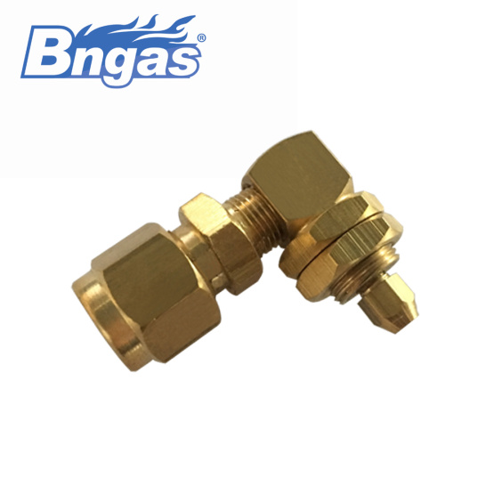 Brass gas burner orifice