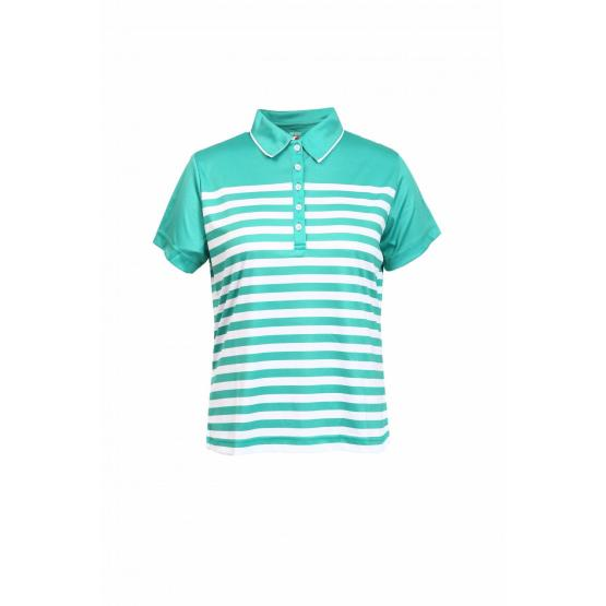 LADIES KNIT GOLF POLO