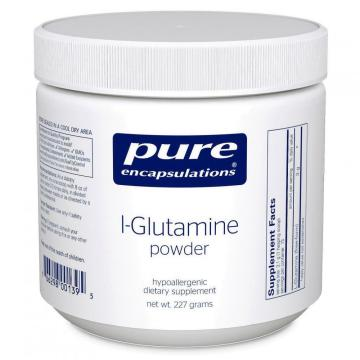 l-glutamine with or without food