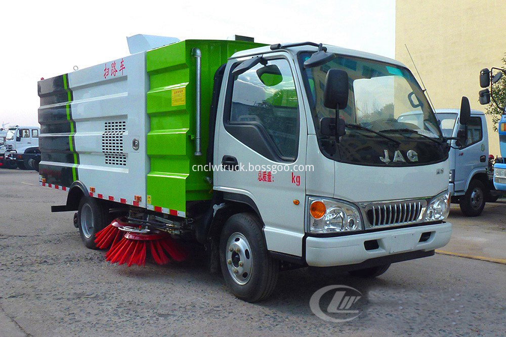 road sweeper truck cost 2