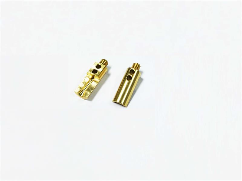 Brass Electronic Accessories 4 Axis Processing