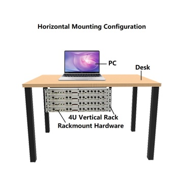 6U Foldable Vertical Wall Mount Network Rack