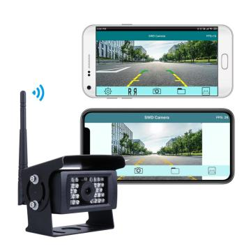 Waterproof Wifi Backup Camera with Night Vision