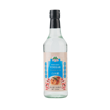 500ml Glass Bottle White Rice Vinegar
