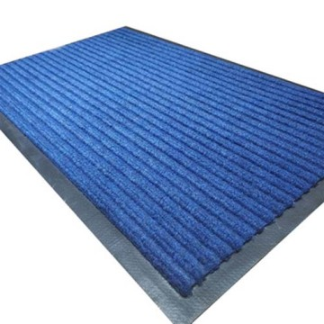 Professional needle punched Ribbed carpet PVC mat backing