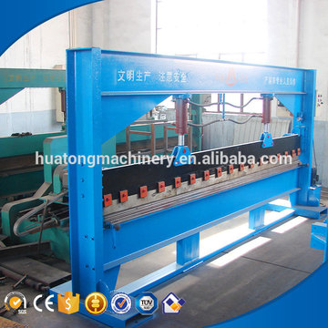 Low cost metal sheet 3 roller plate bending machine