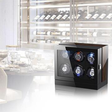 Six Rotations Watch Winder Box