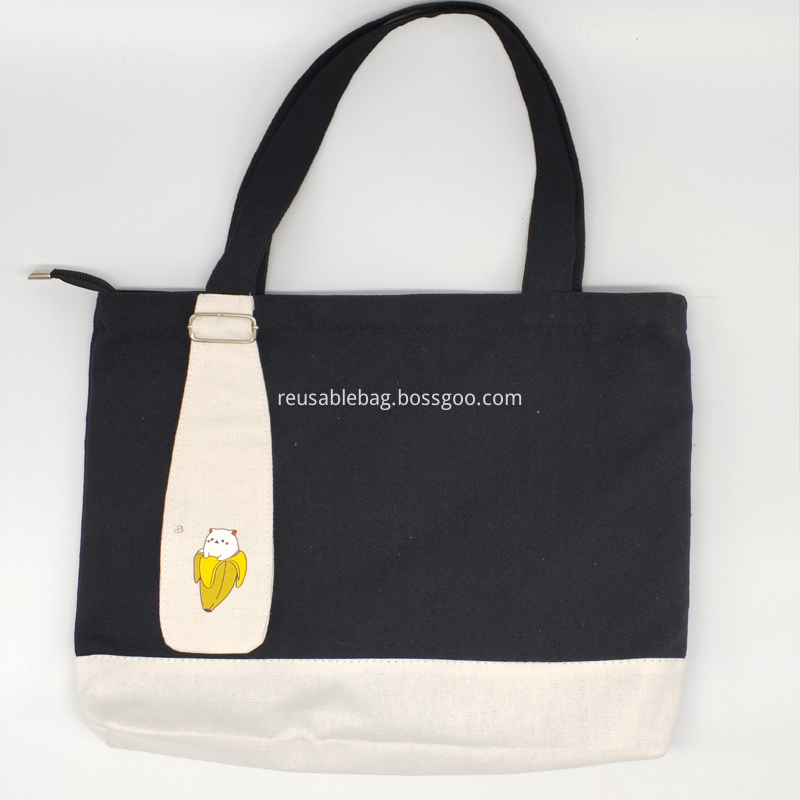 Hand Shopping Plain Cotton Bag