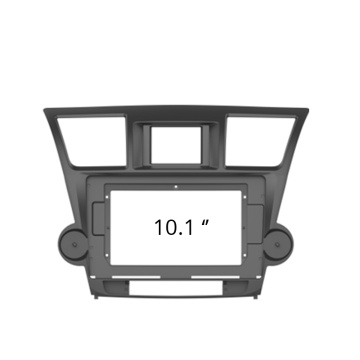 Facia frame panel For Toyota Highlander 2009-13 Radio Headunit