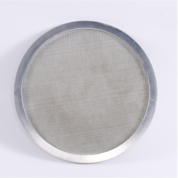 6 micron air screen wire mesh filter disc