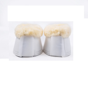 Horse Bell boots with sheepskin